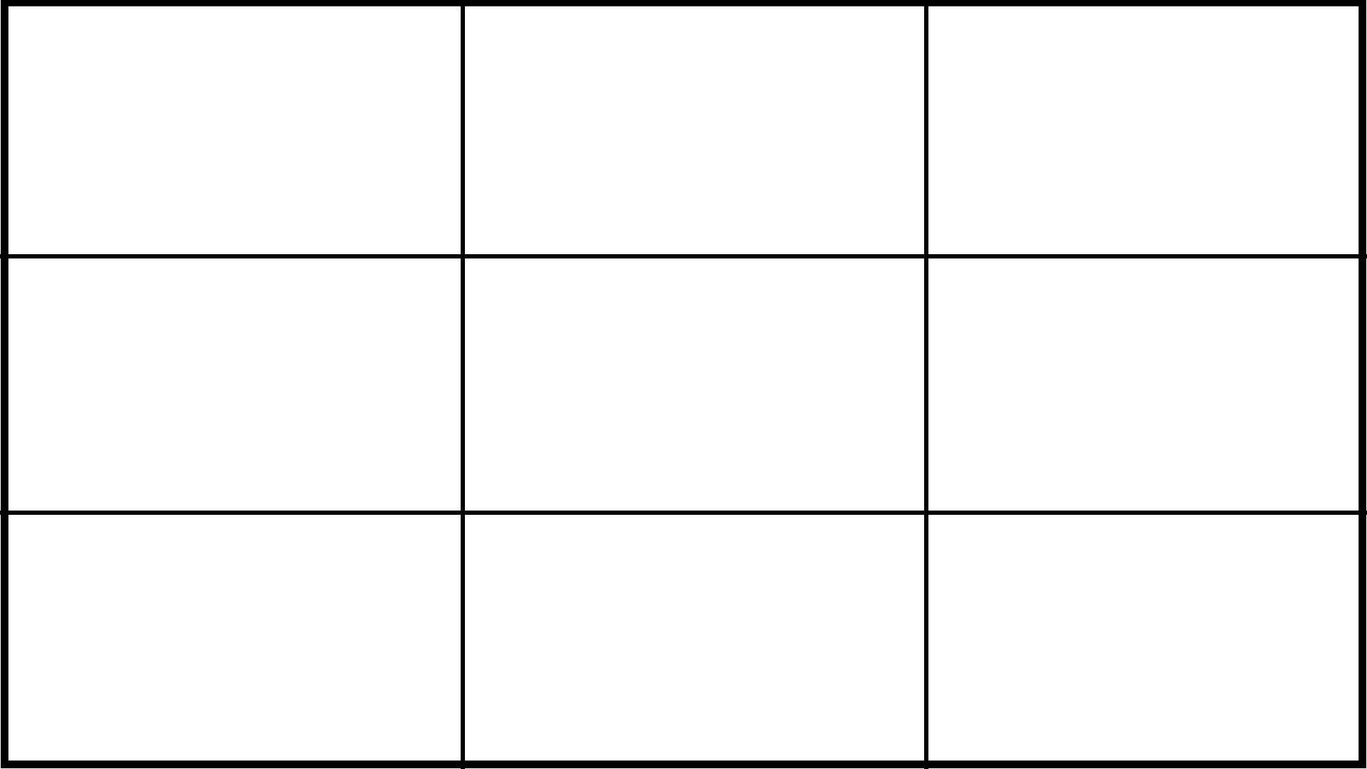 video framing grid