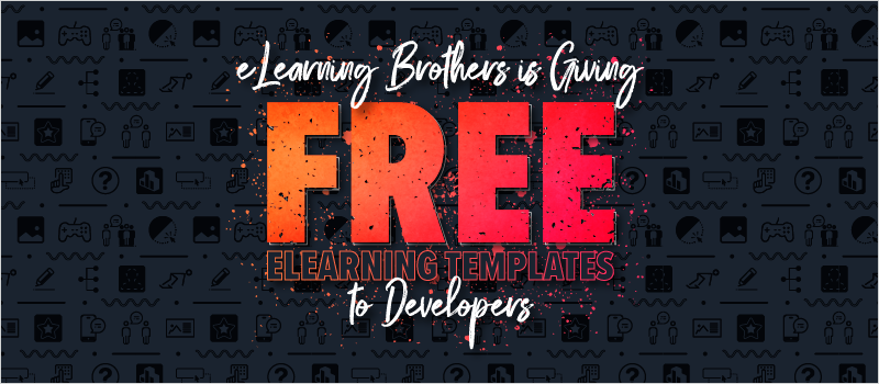 eLearning Brothers is Giving Free eLearning Templates to Developers_Blog Header 800x350