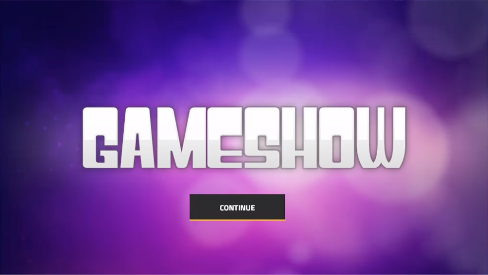 Gameshow game template for storyline