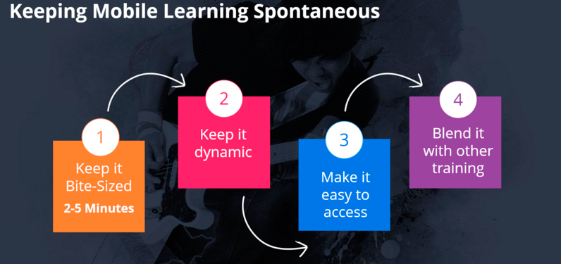keeping mobile learning spontaneous