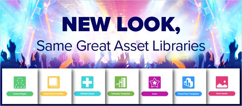 New Look, Same Great Asset Libraries _Blog Header 800x350