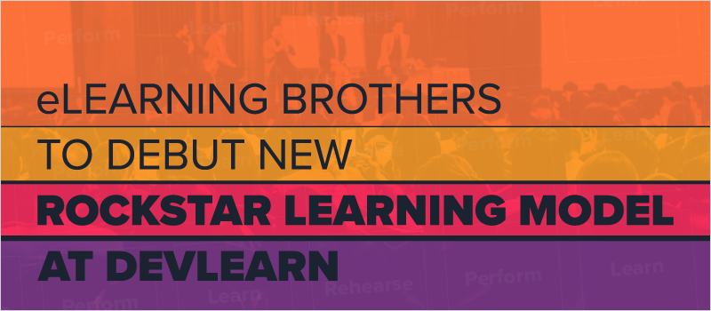 eLearning Brothers to Debut New Rockstar Learning Model at DevLearn_Blog Header 800x350