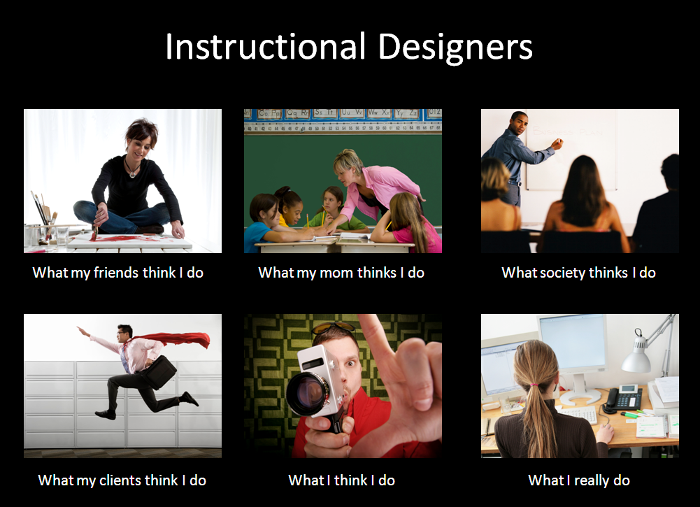 What instructional designers do meme