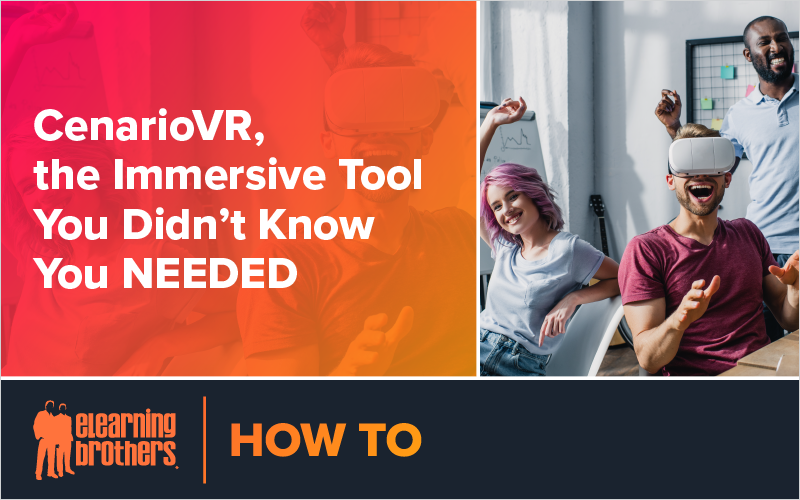Webinar: CenarioVR, the Immersive Tool You Didn't Know You NEEDED