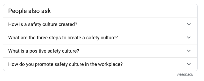 questions people google about safety