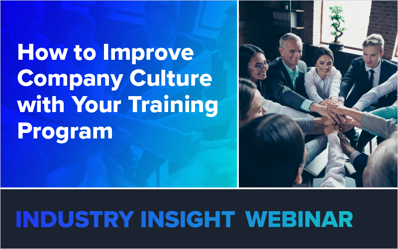 How to Improve Company Culture with Your Training Program