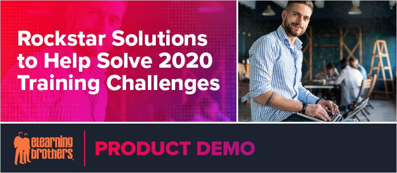 Rockstar Solutions to Help Solve 2020 Training Challenges_Blog Header 800x350