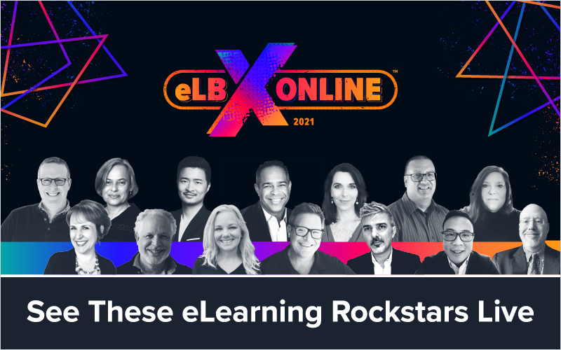 See These eLearning Rockstars Live at eLBX Online