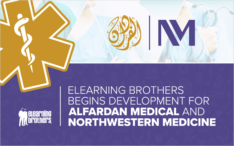 eLearning Brothers Begins Development for Alfardan Medical and Northwestern Medicine_Blog Featured Image 800x500