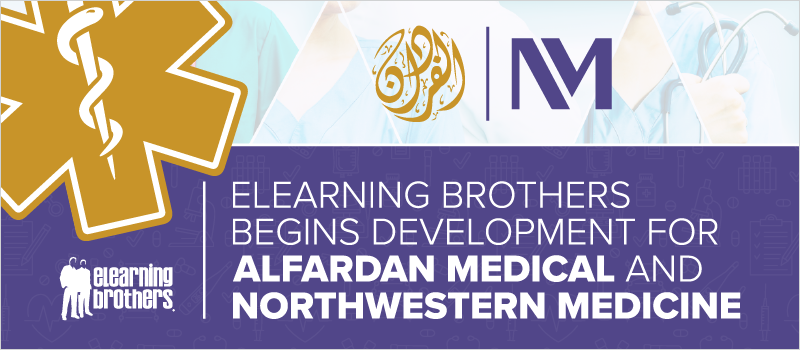 eLearning Brothers Begins Development for Alfardan Medical and Northwestern Medicine_Blog Header 800x350