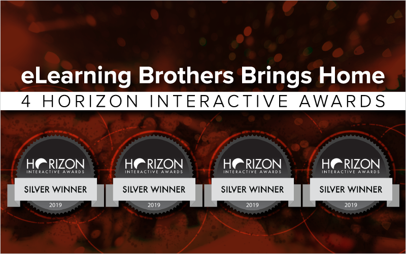 eLearning brothers Brings Home 4 Horizon Interactive Awards